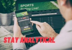 Bet on Football Stay Analytical
